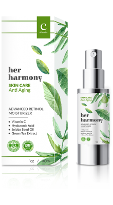 Her Harmony Advanced Anti-Aging Retinol Moisturizer Skin Care Formula 30mL